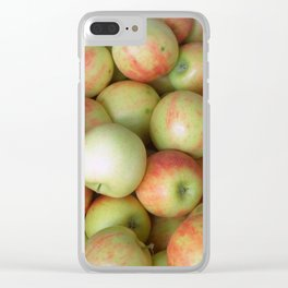Jonagold Apples Clear iPhone Case