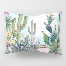 cactus path 1 Pillow Sham