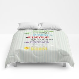 see ya later Comforters