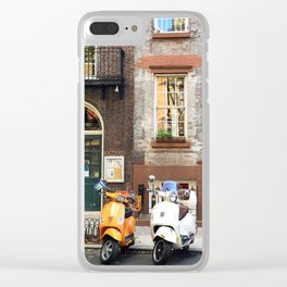 New York equality scooters Clear iPhone Case