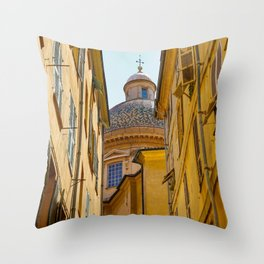French Architecture Throw Pillow