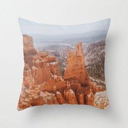 the desert viii Throw Pillow