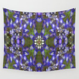 Lupine Wreath... Wall Tapestry