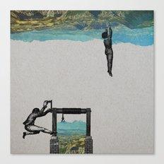 Territoire2 Canvas Print