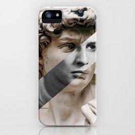 Michelangelo's David & Marlon Brando iPhone Case