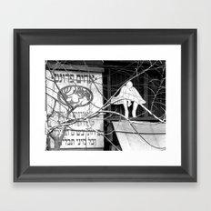 Tel Aviv in Monochrom #1 Framed Art Print