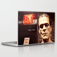 frank Laptop & iPad Skins featuring Frank by Jimmy Duarte
