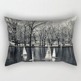 Kerbs Boathouse NYC Rectangular Pillow