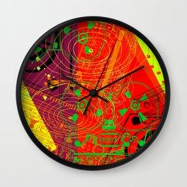 Jx3 Music Series - ColourPopMusik Wall Clock