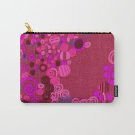 "Gustav Klimt ""Textile design - Model 8"" edited (4) Carry-All Pouch"