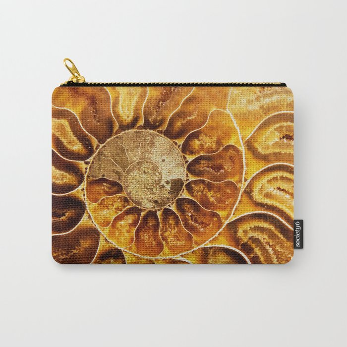 AMAZING AMMONITE Carry-All Pouch