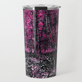 Van Gogh Trees & Underwood Pink Travel Mug