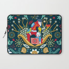 Technological folk art Laptop Sleeve