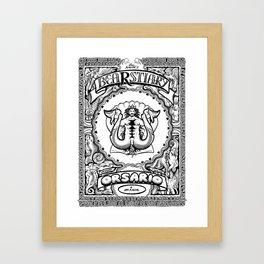 Bearstiary Framed Art Print