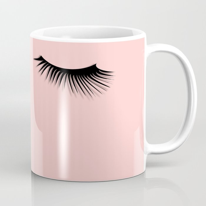 pink eyelashes Coffee Mug