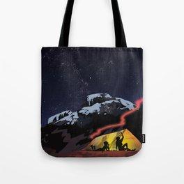 Tent Stories Tote Bag