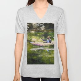 Colorado River Ducky Unisex V-Neck
