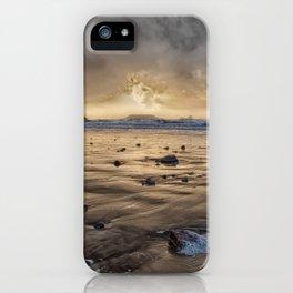 Thunder at Rhossili Bay iPhone Case