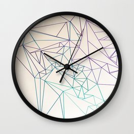 Between the Lines Wall Clock