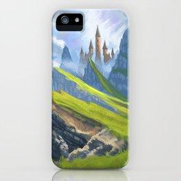 Broken Hills iPhone Case