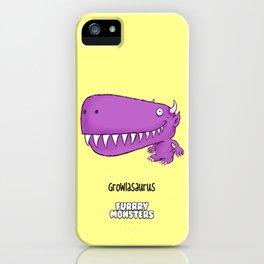 Growlasaurus iPhone Case