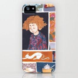 Childhood Collage iPhone Case