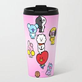 BTS BT21 Characters Travel Mug