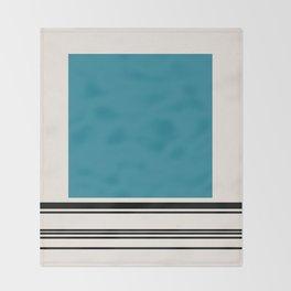 Code Teal Throw Blanket
