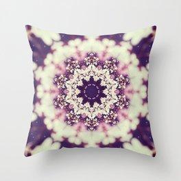 Abraham Vehicle Mandala Throw Pillow