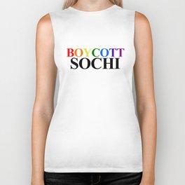 Boycott Sochi Biker Tank