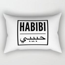 habibi arabic Rectangular Pillow