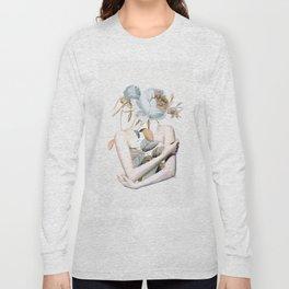 Inner beauty-collage 2 Long Sleeve T-shirt