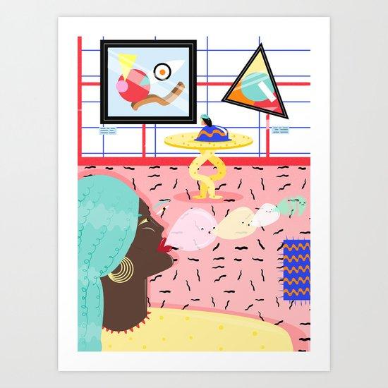 pop non stop Art Print