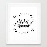 marauders Framed Art Prints featuring Marauders by Pia Ham