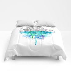 From the Deep, Deep Down. Comforters