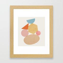 Abstraction_Balances_006 Framed Art Print