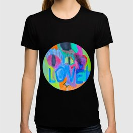 Summer Love | Painting by Elisavet T-shirt