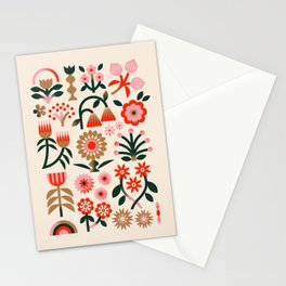 Winter Wrap: White Stationery Cards