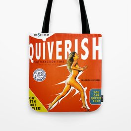 Always Read The Fine Print - Erotic Collage Art Tote Bag