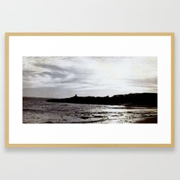 Left Coast Glory Framed Art Print