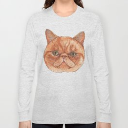 Betty aka The Snappy Cat- artist Ellie Hoult Long Sleeve T-shirt