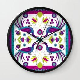 Birds 2 Wall Clock