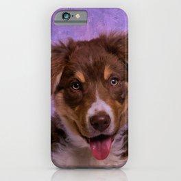 Border Collie Puppy iPhone Case