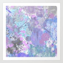 Dull Splatter Art Print
