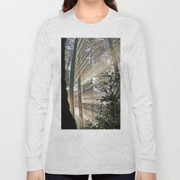 Sunlight Through Trees Long Sleeve T-shirt