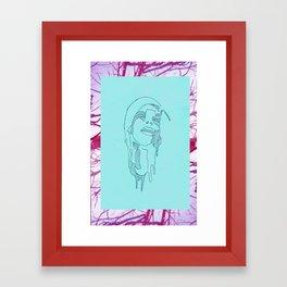 dripping virgin Framed Art Print