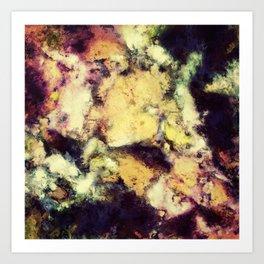 Crumbling sky Art Print
