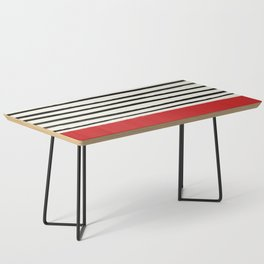 Red Chili x Stripes Coffee Table