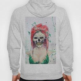 Poison Ivy Skull Hoody