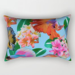 Hawaiian Print III Rectangular Pillow